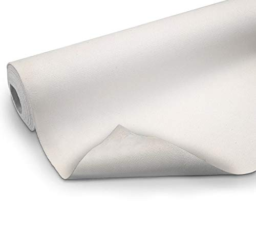 VViViD Double Primed Cotton Canvas 36 Inch Wide Roll Choose Your Size! (10 Foot x 36 Inch)