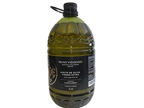 Reino Visigodo Aceite de Oliva Virgen Extra 100% Cornicabra - Garrafa Pet 5 Litros