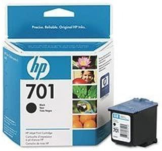 HP 701 (CC635A) Black OEM Genuine Inkjet/Ink Cartridge (895 Yield) - Retail by HP