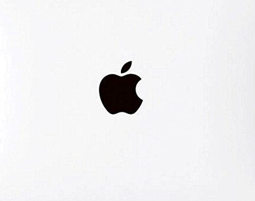 Wallner 5pcs im Satz Metall Gold Apple Logo Overlay Metall Aufkleber Aufkleber für iPhone 6plus / 5s / 7plus (Black)