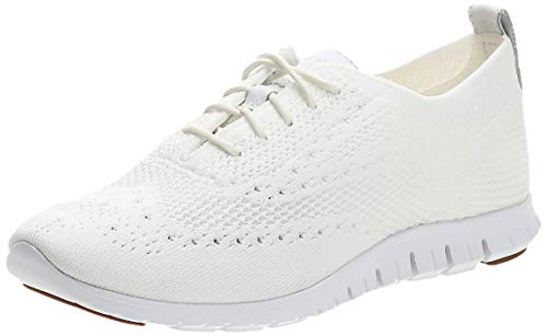 Cole Haan Women's Stitchlite Oxford, Optic White, 9 B US