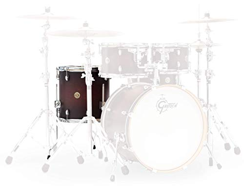 Gretsch Drums Catalina Maple CM1-1214FSDCB Drum Set Floor Tom, Satin Deep Cherry Burst
