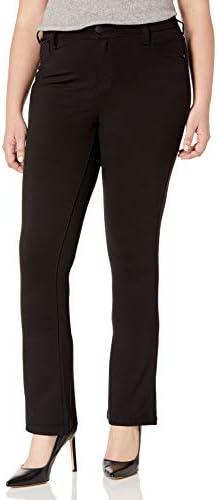 Celebrity Pink Jeans Women s Plus Size Power Ponte Boot Cut Jeans Black 20W product image