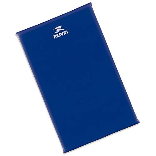 Colchonete de Espuma D18 95cm x 55cm x 3cm Muvin Cnf-300 - Azul