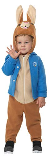 Boys Girls Toddlers Official Peter Rabbit Bunny Animal World Book Day Fancy Dress Costume Outfit 1-6 Years (3-4 Years) Brown