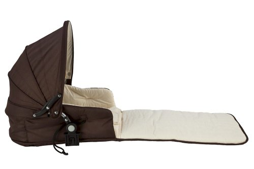 Affordable Single Tri-Mode Husssh Bassinet Color: Hot Chocolate