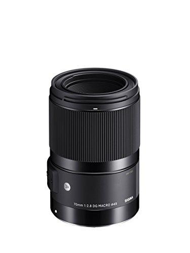 Sigma 70mm F2,8 DG Macro Art Objektiv (49mm Filtergewinde) für Canon Objektivbajonett