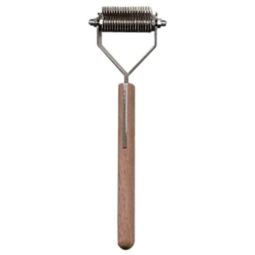 Mars Coat King Original Dematting Undercoat Grooming Rake Stripper Tool for Dogs and Cats, Stainless Steel with Wooden Handle, Made in Germany, 20-Blade