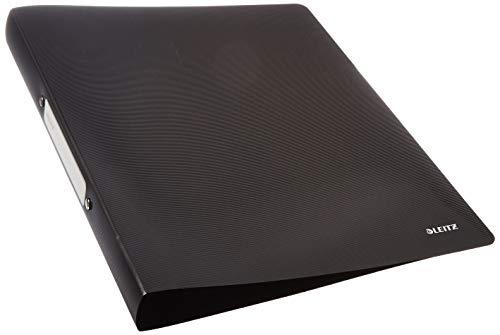 Leitz 45661095 Solid Ringbuch PP A4, 2R 25 mm, schwarz