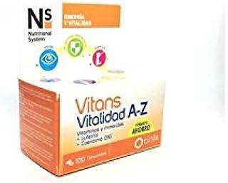N+S VITANS VITALIDAD A-Z 100 COMPRIMIDOS PARA2