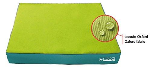 Croci C6020860 kussen, 60 x 50 x 6 cm, groen
