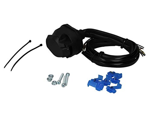 Bosal 012-058 Universal E-Satz Anhängerkupplung Elektrosatz AHZV 130 cm 7 Polig