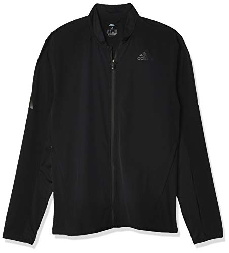 adidas Herren AERO 3S JKT Sport Jacket, Black, M
