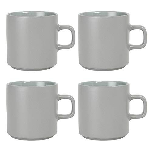 Blomus - MIO - Tasse - Mirage Grey - Keramik - H: 9 cm/T: 11.5 cm/Ø 8.5 cm Volumen
