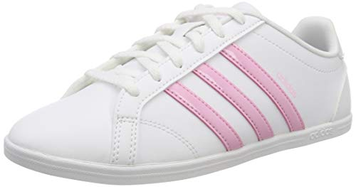 adidas Coneo Qt, Zapatillas de Tenis Mujer, Blanco (FTWR White/True Pink/Light Granite FTWR White/True Pink/Light Granite), 38 EU