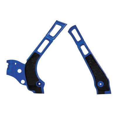 Acerbis X-Grip Frame Guards Blue/Black for Yamaha YZ250 2005-2018