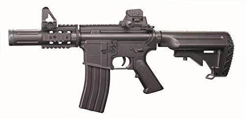 Well Airsoft Gewehr M4 CQC D4815 /Semi Automatik/Automatische Elektrische (0,5 Joule)/Farbe schwarz
