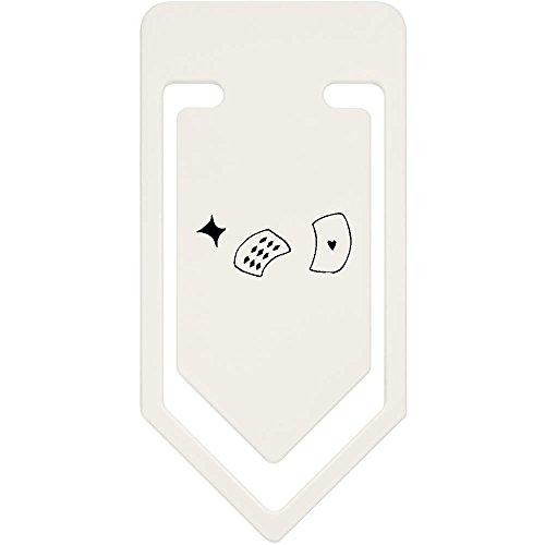 Azeeda 91mm 'Kartenspielen' Große Plastik Büroklammer (CC00012249)