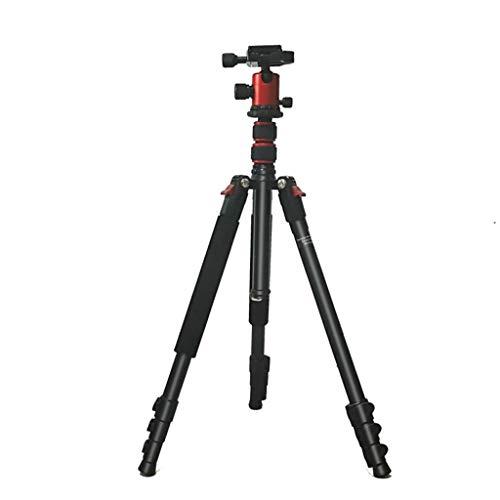 Nai-tripod Outdoor-Fotografie-Stativ, Capture Recording SLR-Kamera-Ständer - Sehenswürdigkeiten fotografieren Kamerastativ Alpenstock (Color : Black)