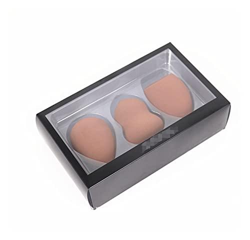 MIAOMIAO Maquillage éponge mélangeur Bouffante 3pcs / boîte Grande Taille Gourde Goutte de Fond de Fond de Fond de Fond de Fond de cosmétiques mélangés Maquillage éponge bouffée Service