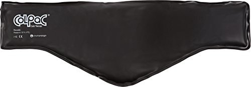 Chattanooga ColPac - Reusable Gel Ice Pack - Black Vinyl - Neck...