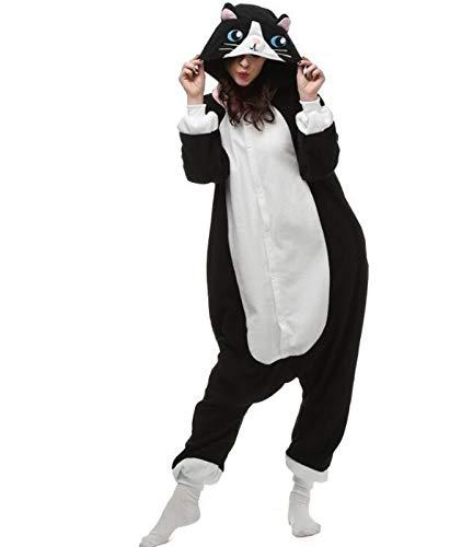 WJCRYPD Pijamas Nuevo Enlace De Partido Bodies Invierno Animal Adulto Fox Caliente Trajes De Pijama De Dibujos Animados del Mono Capucha De La Navidad Qf Shop (Color : 26, Size : M(160-170cm))