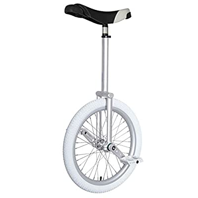 """Nimbus Eclipse 20"""" Freestyle Unicycle 300mm - Silver"""