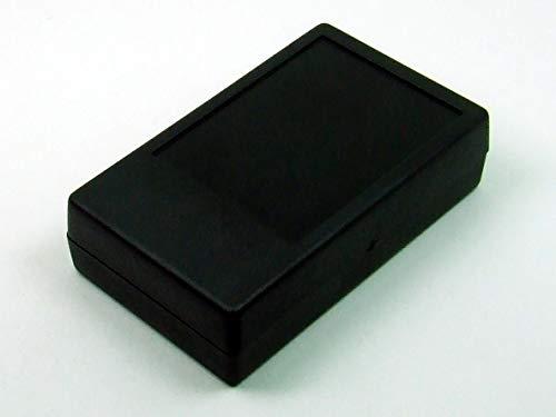 POPESQ® - 1 Piezas x Caja 104x63x28mm con Compartimento Pilas Negro Plastico / 1 pcs. x Enclosure 104x63x28mm with Battery compatment Black Plastic #A1638