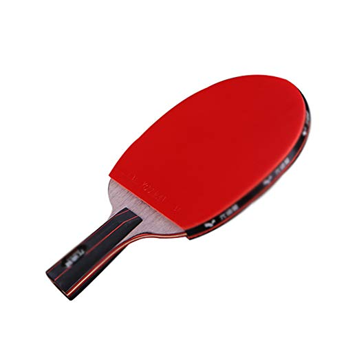 Check Out This 3 Layers of Pure Wood + 4 Layers of Carbon Floor Table Tennis Bat,Ping Pong Paddle ï¿...
