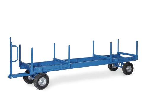Fetra Langmaterial-Anhänger 3t, 1-Achs-Drehschemel-Lenkung