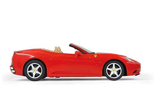 RC Auto kaufen Rennwagen Bild 6: Jamara 404290 - RC Ferrari California 1:12 inklusive Fernsteuerung, rot*
