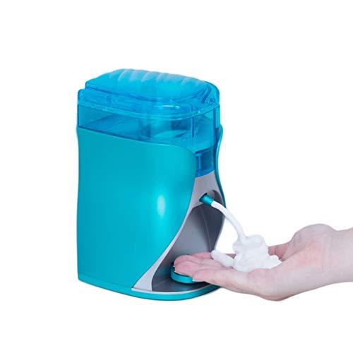 LZL Dispensador de jabón Dispensador de jabón Manual montado en Pared Baño de Botella de Espuma automática de Espuma de Espuma Líquido plástico 12.9oz dispensador de detergente