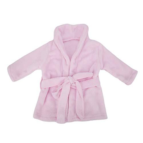 Puntelli per foto Vestiti per neonata, Servizio fotografico per accappatoio con foto per bambini, Regalo bianco da cento giorni(Pink)