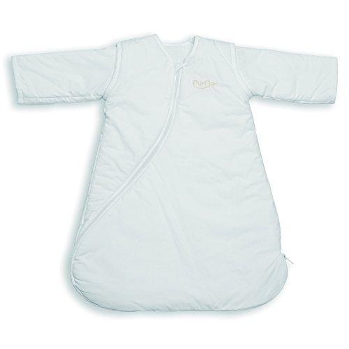 PurFlo Babyschlafsack, 1,0Tog, weiß, 9–18Monate