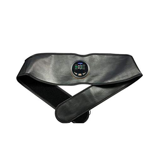 WLPTION Cinturón de entrenamiento de cintura, recortador de cintura ajustable, cinturón de peso eléctrico, herramienta de entrenamiento abdominal para hombres y mujeres