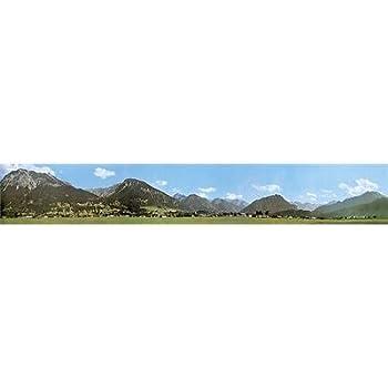 Faller 180505 Modellhintergrund Sommer im Mittelgebirge