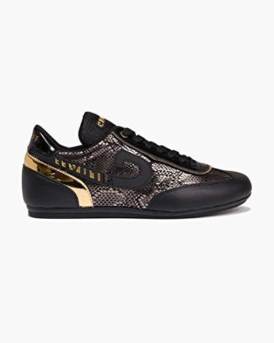 Cruyff Charm zwart goud sneakers dames