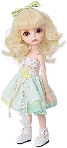 BAOTR BJD Puppe Gold Lange Haare elegant Elf SD 1 6 Eine vollst ige Reihe von Joint Puppen kann Kleidung Schuhe Dekoration  ern