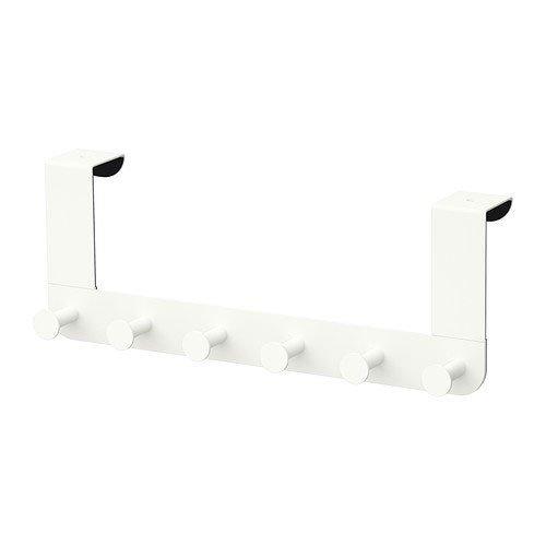 Ikea Enudden Kleiderbügel für Tür, Weiß, 2 Stück