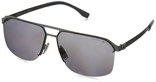 Hugo Boss Boss 0839/S 3H R81 gafas de sol, Gris (Smtt Ruthen/Grey Pz), 61 Unisex-Adulto