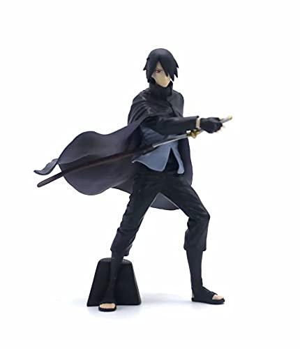 Mimimiao Naruto Uchiha Sasuke Bo REN Biografía Konoha Ninja Material de PVC Figura de Anime Modelo Juguetes en Caja Regalos Colección Versión...