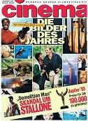 Cinema 1993 Nr. 12 , Die Bilder des Jahres Cover . Zeitschrift