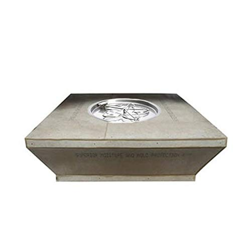 Learn More About Hearth Products Controls Square Unfinished Gas Fire Pit Enclosure with Electronic I...