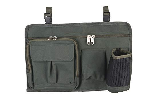 Anaconda_P876C_black Unisex– Erwachsene Anaconda Chair Tackle Bag I, Grün, 41 x 26 cm