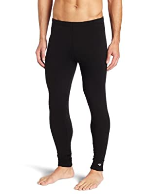 Duofold Men's Heavy Weight Double-Layer Thermal Pant, Black, Large