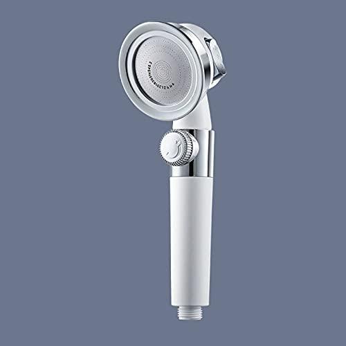 Cabeza de ducha 24 cm Blanco ABS 304 Acero Presurizado Cabeza de ducha Alta presión Ahorro de agua Ajustable Ajustable Accesorios Accesorios Ducha Qingchunw
