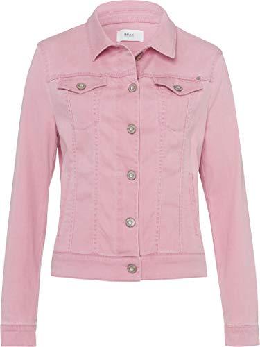 BRAX Damen Style Miamipd Jeansjacke, Cherry Blossom, 34