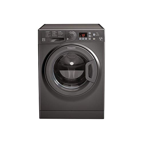 Hotpoint FDF9640G 9kg 1400rpm Freestanding Washer Dryer - Graphite