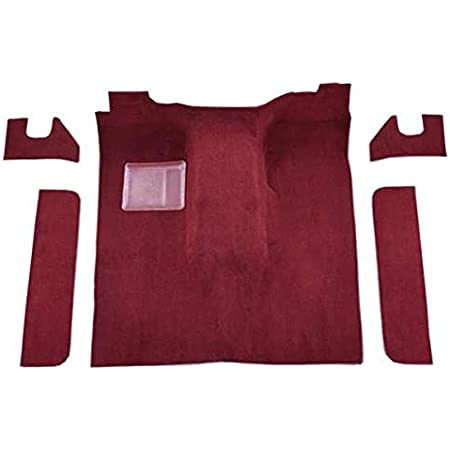 Complete Carpet with Rear Curtain 1998-Purple Neon Pile ACC Brand Carpet Compatible with 1978 to 1979 Dodge Lil Red Express