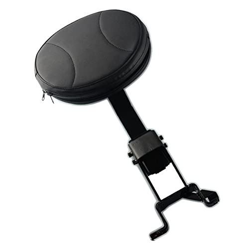 Motorcycle Plug-In Detachable Oval Rider Driver Nails Black Backrest Mounting For I.n.d.i.a.n-C.h.i.e.f.t.a.i.n-C.h.i.e.f-V.i.n.t.a.g.e 2014-2018 (Color : A)